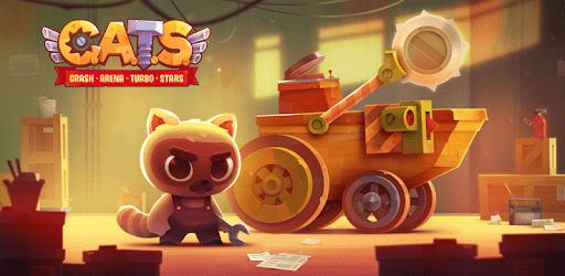 Cats: Crash Arena Turbo Stars Apk Mod dinheiro infinito