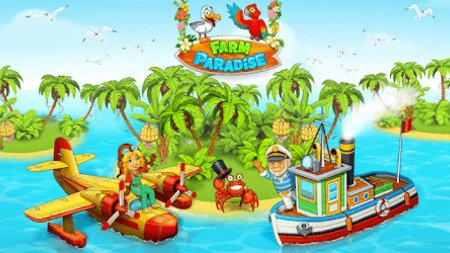 Paradise Farm Island Bay Apk Mod Dinheiro Infinito