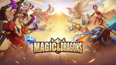 Magic & Dragons Apk Mod Dinheiro Infinito