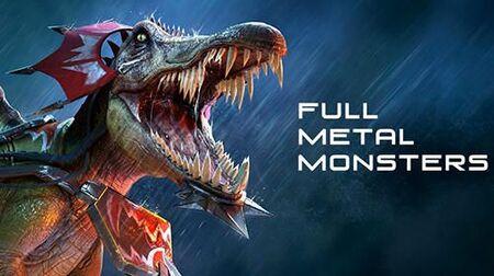 Jurassic Monster World Apk Mod Munição Infinita