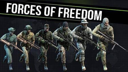 Forces of Freedom Mod Apk Radar Modificado