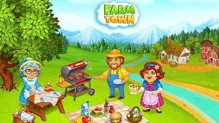 farm town apk mod dinheiro infinito