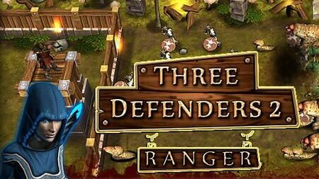 Three Defenders 2 Ranger apk mod dinheiro infinito