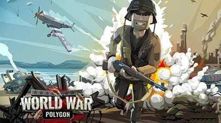 World War Polygon Mod Apk Munição Infinita