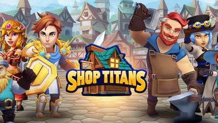 Shop Titans Mod Apk Dinheiro Infinito