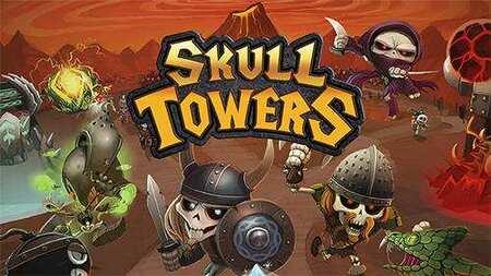 Skull Towers Castle Defense apk mod dinheiro infinito