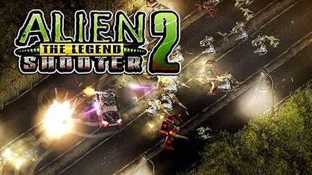 Alien Shooter 2 The Legend mod apk dinheiro infinito