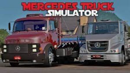 Mercedes Benz Truck Simulator apk mod dinheiro infinito