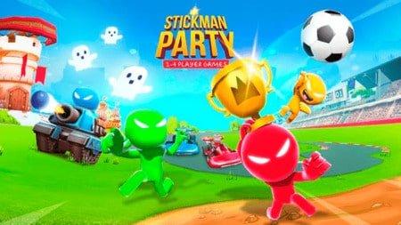 stickman party mod apk dinheiro infinito