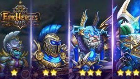Epic Heroes War Apk Mod Dinheiro Infinito