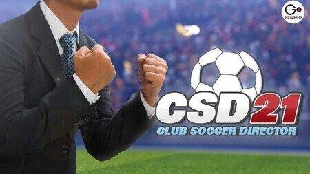 Club Soccer Director 2021 mod apk dinheiro infinito CSD 21