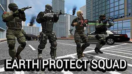 Earth Protect Squad Apk Mod Dinheiro Infinito