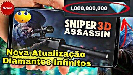 Sniper 3D Assassin dinheiro infinito