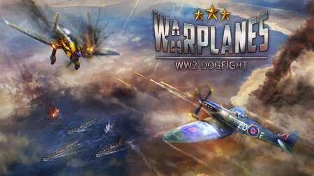 Warplanes WW2 Dogfight Mod Apk Dinheiro Infinito