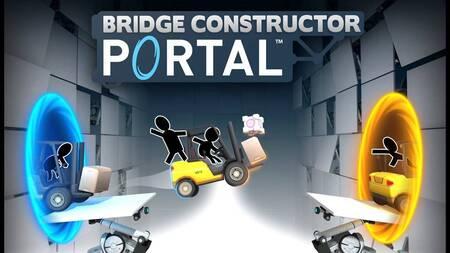 Bridge Constructor Portal mod apk dinheiro infinito