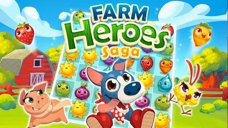 Farm Heroes Saga apk mod dinheiro infinito