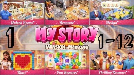 my story mansion makeover mod apk dinheiro infinito