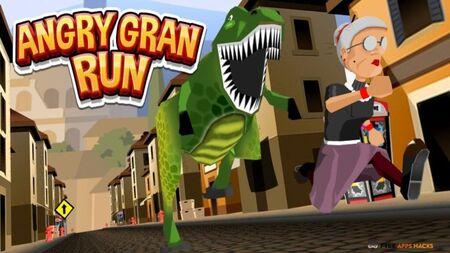Angry Gran Run Apk Mod Dinheiro Infinito