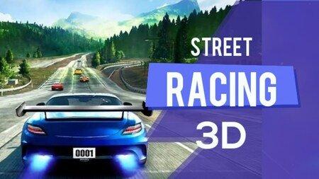 Corrida de Rua 3D dinheiro infinito apk mod