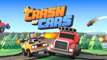 Crash of Cars Apk Mod Dinheiro Infinito