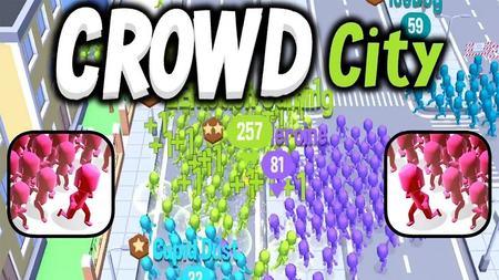 Crowd City apk mod dinheiro infinito
