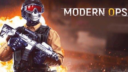Modern Ops mod apk dinheiro infinito
