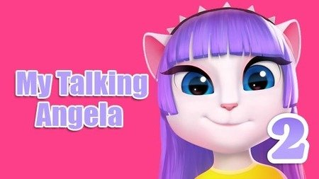 My Talking Angela 2 Mod Apk Dinheiro Infinito