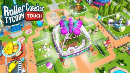 RollerCoaster Tycoon Touch Mod Apk Dinheiro Infinito