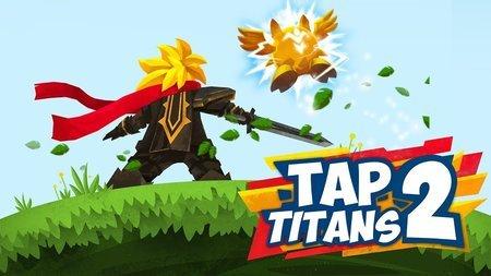 Tap Titans 2 Apk Mod Dinheiro Infinito