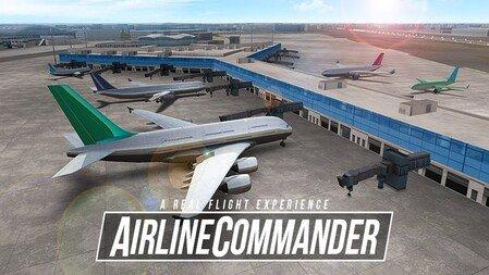 Airline Commander Apk Mod Desbloqueado