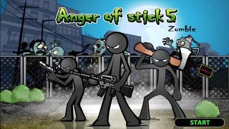Anger of Stick 5 apk mod dinheiro infinito