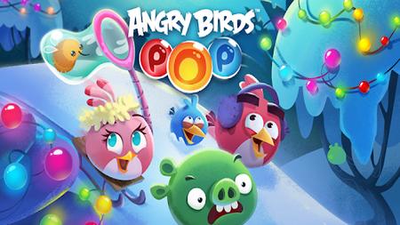 Angry Birds Pop Bubble Shooter apk mod dinheiro infinito