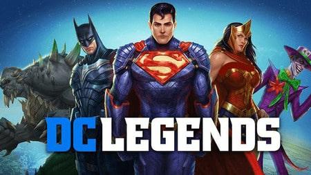 DC Legends Apk Mod mod menu dinheiro infinito