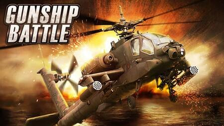 Gunship Battle Helicopter apk mod dinheiro infinito