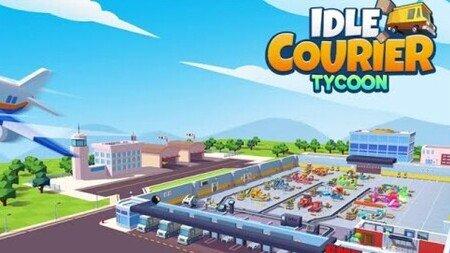 Idle Courier Tycoon Mod Apk Dinheiro Infinito