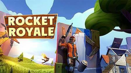 Rocket Royale apk mod dinheiro infinito