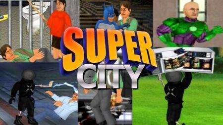 Super City Superhero Sim Mod Apk dinheiro infinito