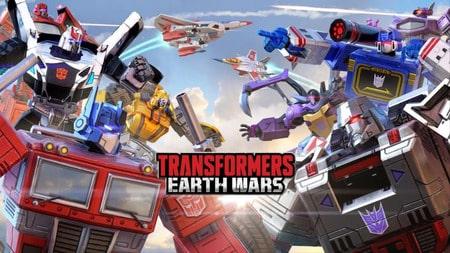Transformers Earth Wars apk mod dinheiro infinito
