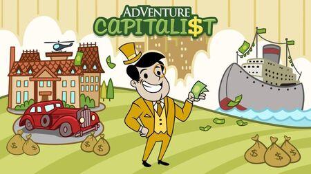 Adventure Capitalist Apk Mod Dinheiro Infinito