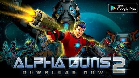 Alpha Guns 2 mod apk dinheiro infinito