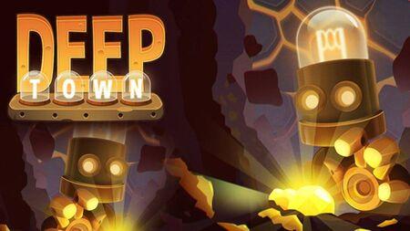 Deep Town: Mining Factory Apk Mod Dinheiro Infinito