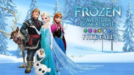 Disney Frozen Free Fall mod apk dinheiro infinito
