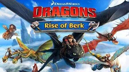 Dragons Rise of Berk Apk mod dinheiro infinito