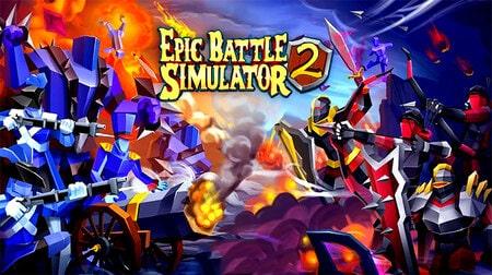 Epic Battle Simulator 2 Apk Mod dinheiro infinito