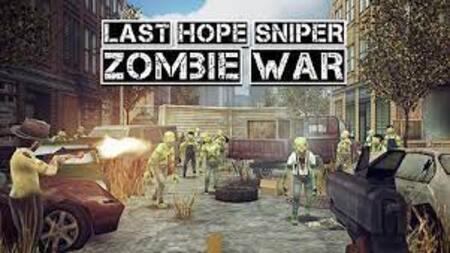 Last Hope Sniper - Zombie War apk mod dinheiro infinito
