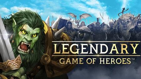 Legendary Game of Heroes Apk Mod dinheiro infinito