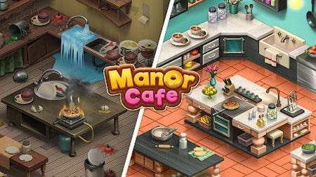 Manor Cafe Infinito Apk Mod Dinheiro