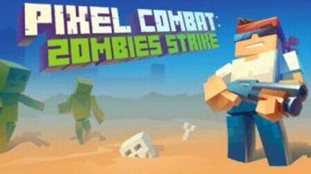 Pixel Combat Zombies Strike Apk Mod Dinheiro Infinito