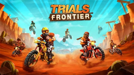 Trials Frontier apk mod dinheiro infinito