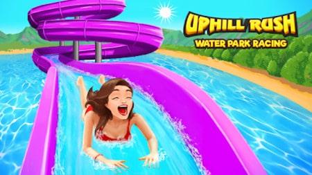 Uphill Rush Water Park Racing Apk Mod Dinheiro Infinito